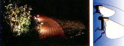 landscape path safety lighting